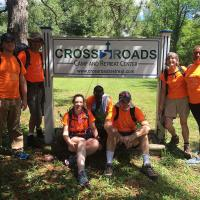 Tuesday: July 26: The Pilgrims reach Cross Roads Camp!