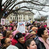 Women's March in Washington. CYNTHIA BLACK PHOTO