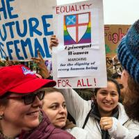 Women's March in Washington. CYNTHIA BLACK PHOTO