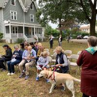 St. Stephen's, Millburn and Christ Church, Short Hills joint Blessing of the Animals. TRISTAN SHIN PHOTO