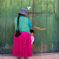 Opening Up, Curahuara de Carangas, Bolivia. CYNTHIA L. BLACK PHOTO