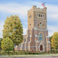 St. Peter's Church by Connie Halliwell