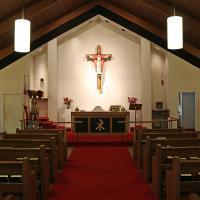 The nave of St. Paul's, North Arlington. NINA NICHOLSON PHOTO