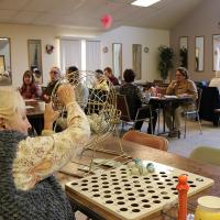 A senior activity center will continue to occupy St. Paul's parish hall five days a week. NINA NICHOLSON PHOTO