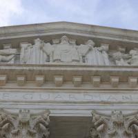 WASHINGTON: The Supreme Court Building. NINA NICHOLSON PHOTO