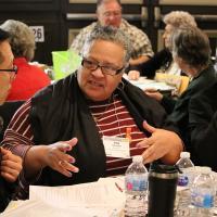 Storytelling at Convention. NINA NICHOLSON PHOTO