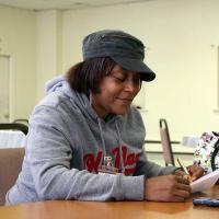 Tasha Scott plans to take her GED test in November or December 2017. KIRK PETERSEN PHOTO