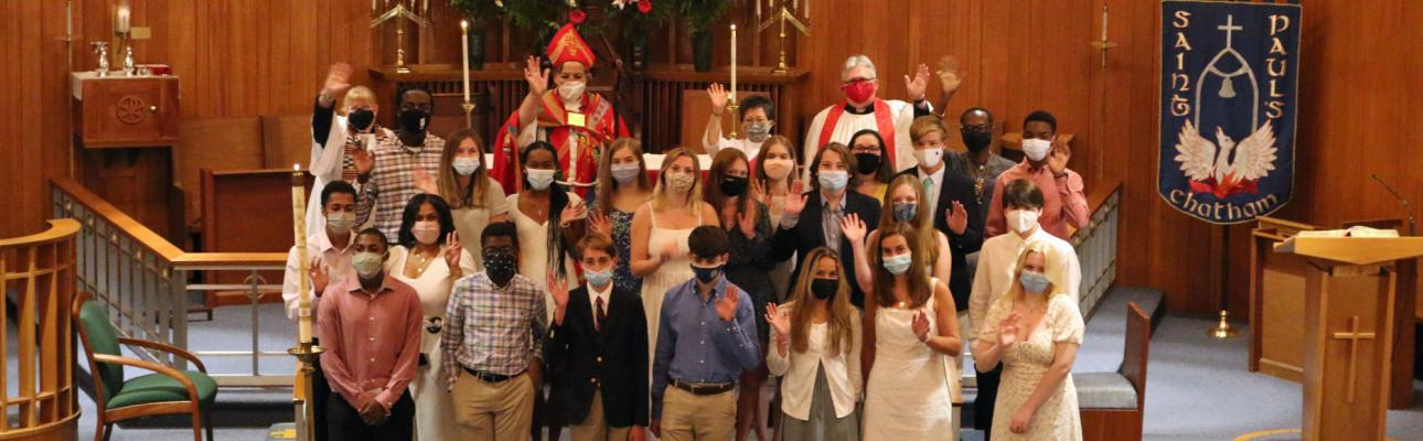 Confirmation Service at St. Paul's, Chatham