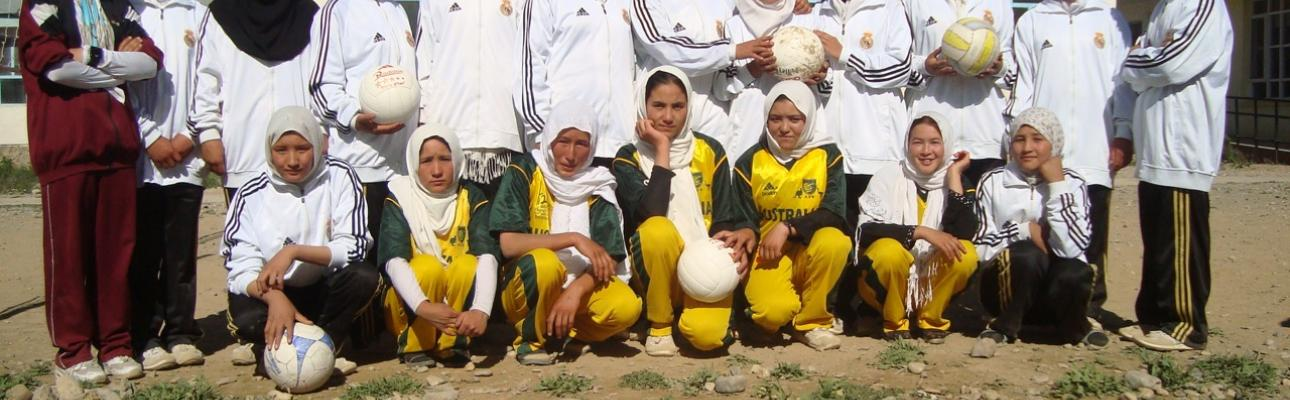 Afghan Girls' Volleyball Team