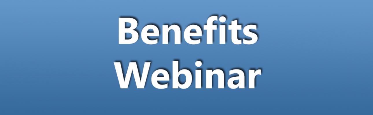 Benefits webinar