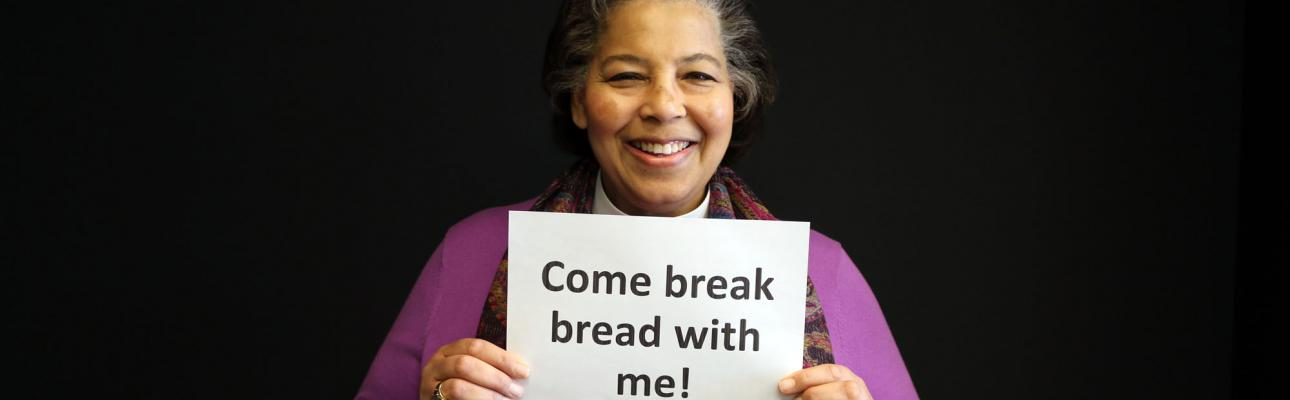 Breaking Bread with Bishop Carlye
