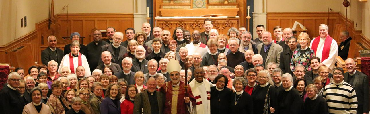 Clergy Renewal of Vows 2015