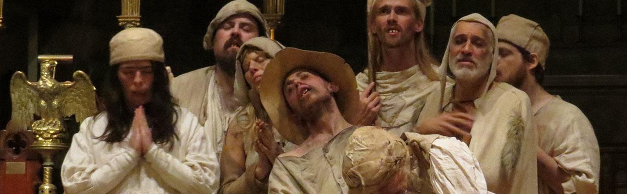 The Fool's Mass at Christ Church, Bloomfield & Glen Ridge. SHARON SHERIDAN HAUSMAN PHOTO