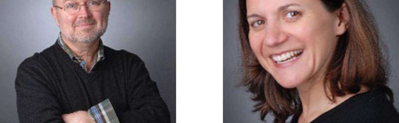 Jim Naughton and Rebecca Wilson