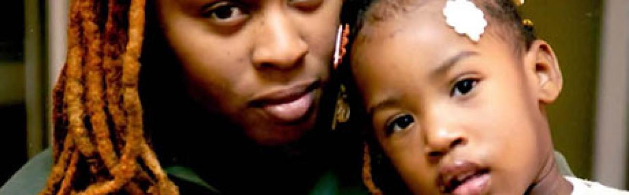 Lamasha and her daughter.