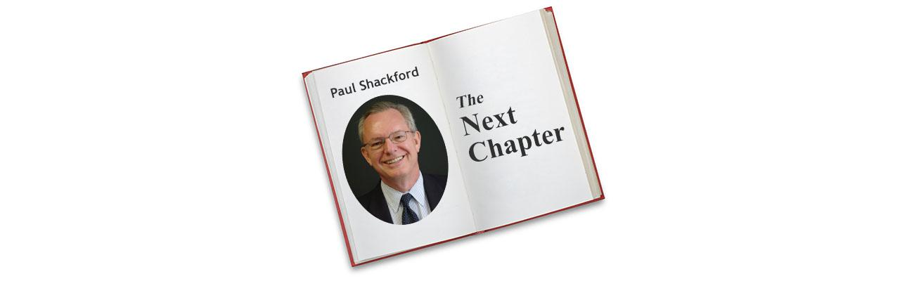 Paul Shackford - The Next Chapter