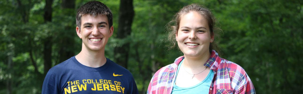 Matt Porowski and Shannon Molnar at Cross Roads in July 2019. NINA NICHOLSON PHOTO