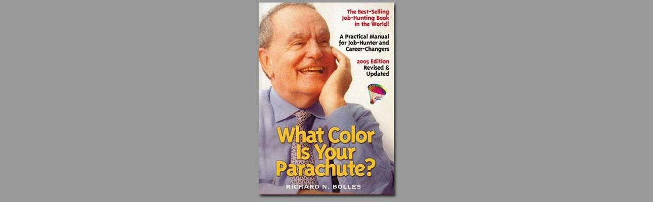 "Richard N. Bolles, author of ""What Color Is Your Parachute?"""