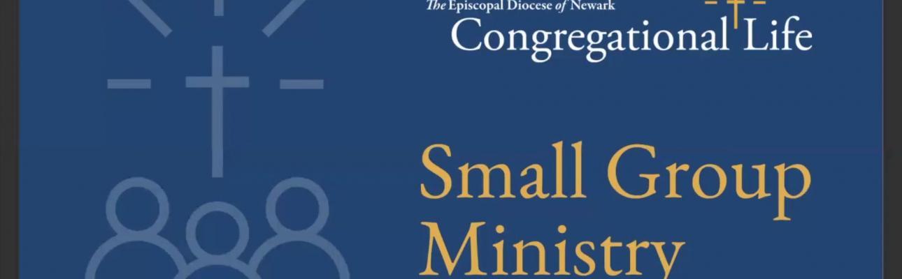Small Group Ministry presentation, November 2020