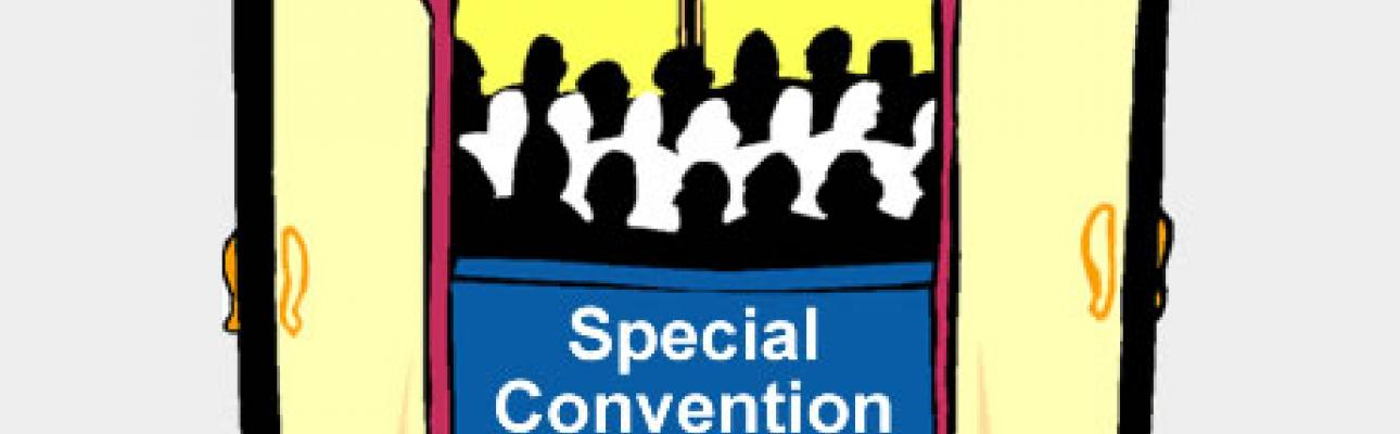 Special Convention June 9