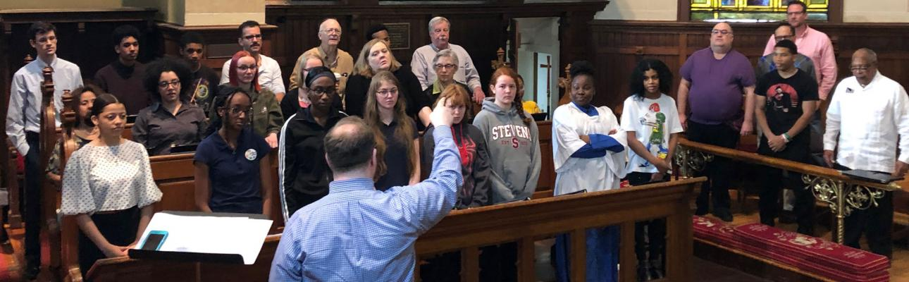 Choirs from four dioceses gather for St. Paul's, Englewood's choral festival