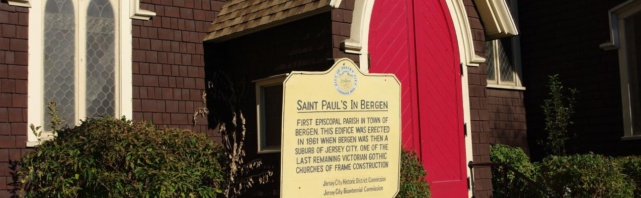 Fourth BCEF Call of 2018: St. Paul's, Jersey City
