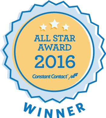 Constant Contact 2016 All-Star Award