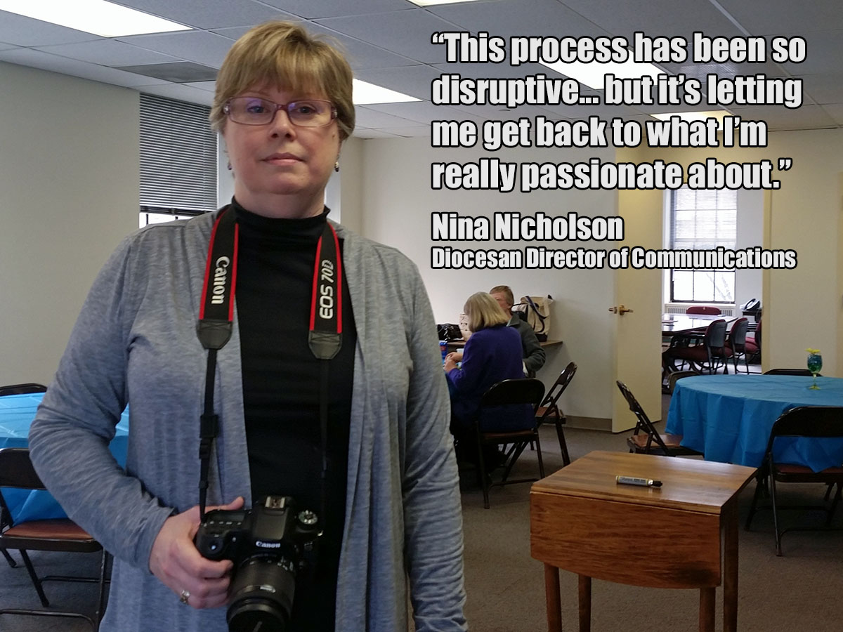 Nina Nicholson - Director of Communications