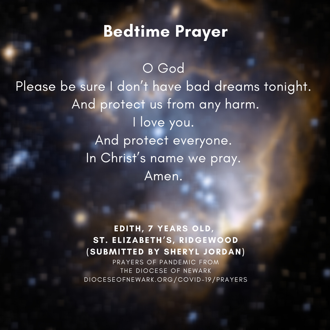 Prayers of Pandemic - Bedtime Prayer